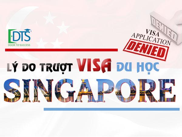 Visa du học Singapore dễ nhưng không có nghĩa không trượt