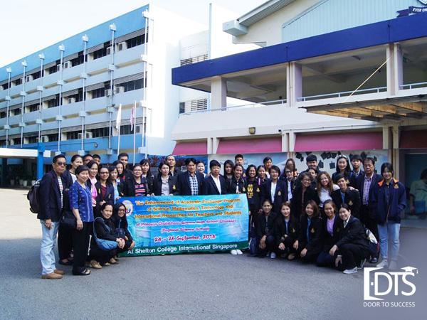 Cao đẳng Shelton Singapore thu hút đông đảo sinh viên quốc tế đặc biệt là sinh viên Việt trong những năm qua