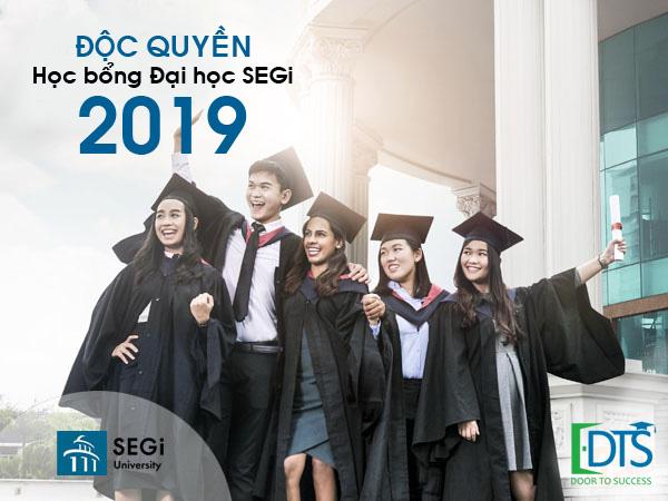 Du học DTS vinh dự là đơn vị độc quyền cung cấp học bổng Đại học SEGi Malaysia 2019