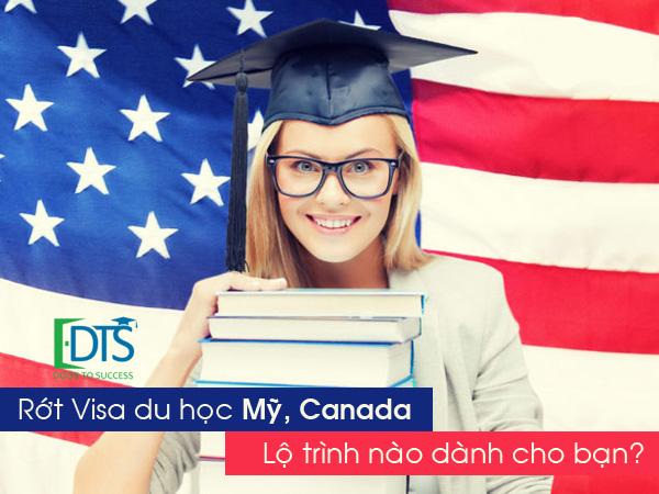 Rớt visa du học Mỹ, Canada, Lộ trình du học nào dành cho bạn?