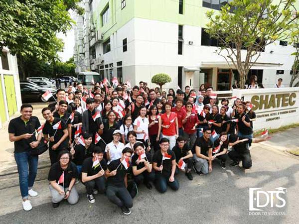 Học viện Shatec là trường hàng đầu đào tạo ngành du lịch khách sạn tại Singapore