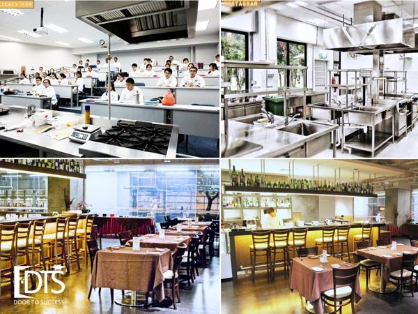 Học viện Shatec với cơ sở vật chất đáp ứng mọi nhu cầu để đào tạo khối ngành du lịch, nhà hàng, khách sạn