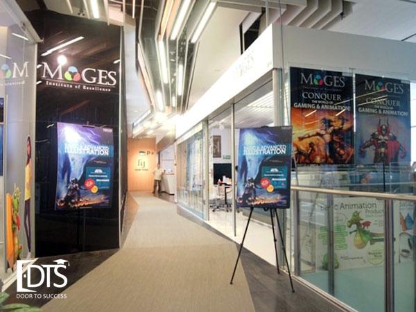 Học viện MAGES Singapore - Ngôi trường của ngành thiết kế đồ họa