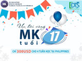 Ưu đãi du học tiếng anh tại trường anh ngữ MK Philippines 2019