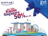 Học bổng lên đến 50% học phí Học viện Kaplan Singapore 2019