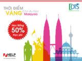 Cơ hội nhận học bổng 50% học phí Đại học Help Malaysia