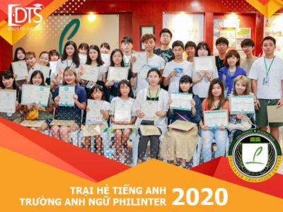 Trại hè tiếng anh Philinter 2020 – Trải nghiệm để trưởng thành hơn