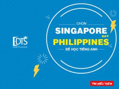 Nên học tiếng Anh tại Singapore hay Philippines?