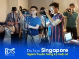 Du học ngành truyền thông kỹ thuật số tại Học viện Raffles Singapore