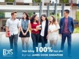 Học bổng 100% học phí Đại học James Cook Singapore 2020