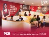 Học viện PSB Singapore cập nhật chương trình học, học phí 2020