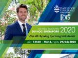 Hội thảo trực tuyến du học Singapore cùng Đại học James Cook