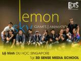 3D Sense Media School là top 10 trường trên thế giới về đồ họa máy tính