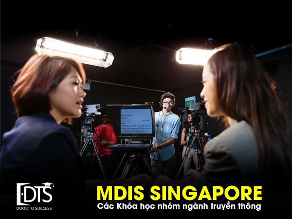 Du học Singapore ngành Truyền Thông tại Học viện MDIS