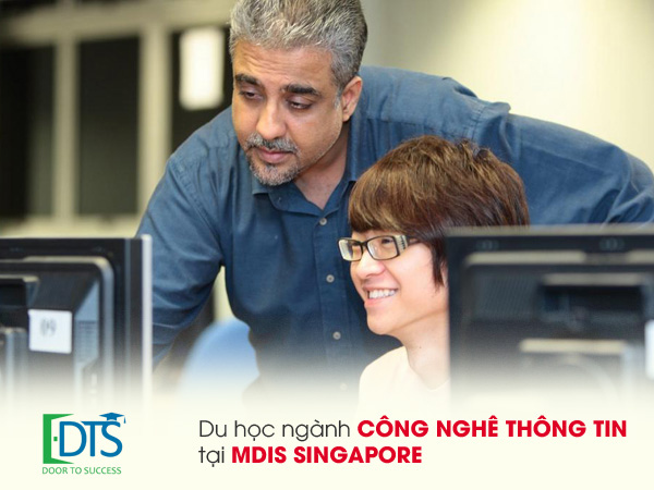 Du học ngành công nghệ thông tin tại Học viện MDIS Singapore