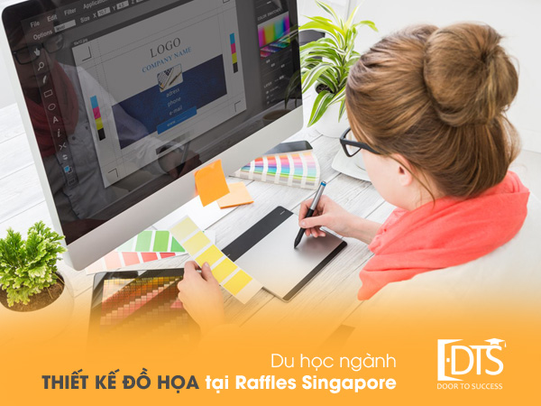 Du học ngành thiết kế đồ họa tại Học viện Raffles Singapore