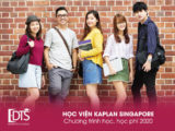 Học viện Kaplan Singapore cập nhật chương trình học, học phí 2020