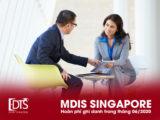 Học viện MDIS Singapore hoàn phí ghi danh trong tháng 06.2020