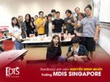 Cảm nhận sinh viên Nguyễn Minh Quân về Học viện MDIS Singapore