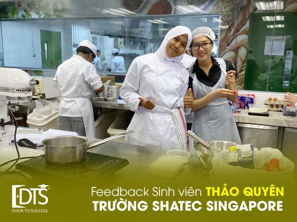 Cảm nhận sinh viên Thảo Quyên về Học viện Shatec Singapore