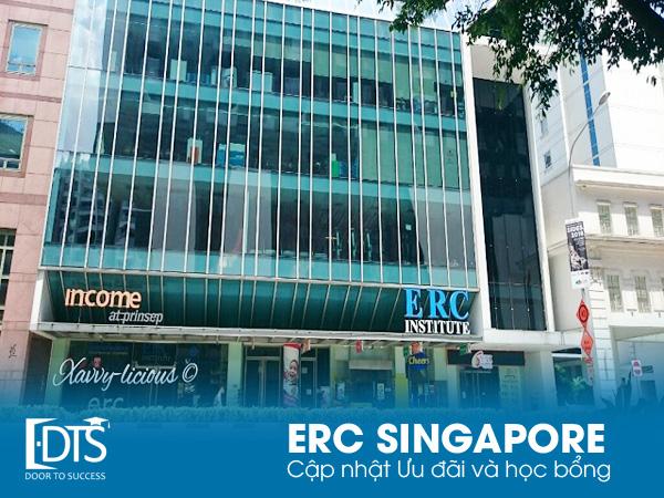 Học viện ERC Singapore ưu đãi học phí năm học 2020 - 2021