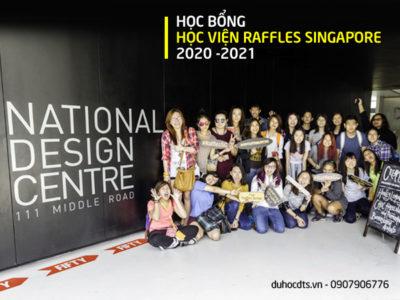 Săn học bổng cực HOT cùng Học viện Raffles Singapore 2020 – 2021
