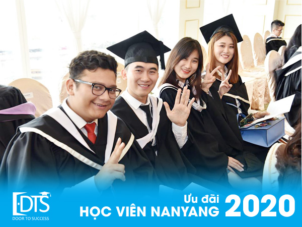 Chương trình ưu đãi Học viện Quản lý Nanyang Singapore 2020