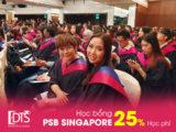 Chương trình học bổng Học viện PSB Singapore lên tới 25% học phí