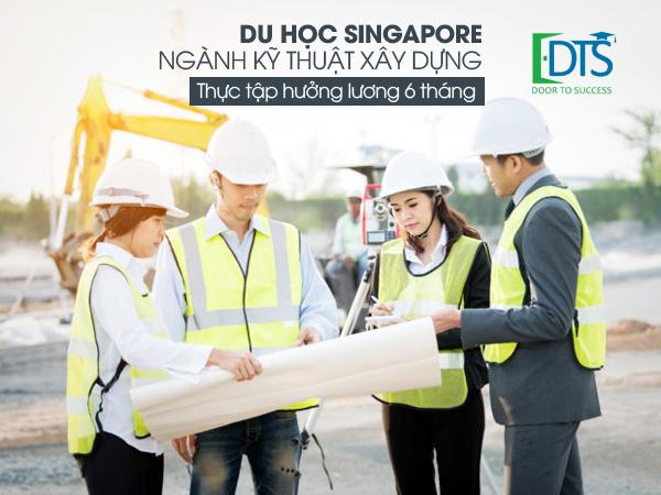 Du học Singapore ngành Kỹ thuật xây dựng tại Học viện Nanyang