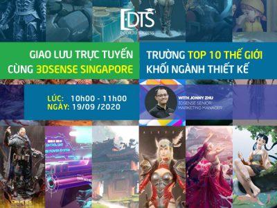 Giao lưu cùng 3DSENSE – trường top 10 thế giới khối ngành thiết kế