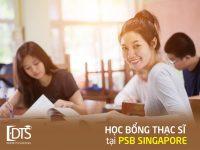 Học bổng du học thạc sĩ tại Singapore cùng Học viện PSB