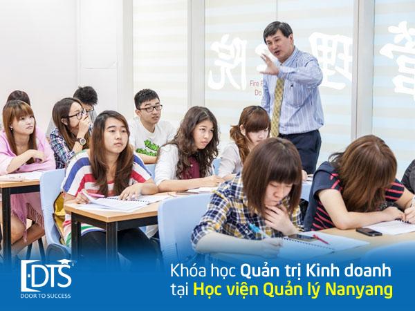 Khóa học ngành Quản trị Kinh doanh tại Học viện Nanyang Singapore