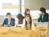 Khóa học thạc sĩ Quản trị Kinh doanh tại Học viện Kaplan Singapore