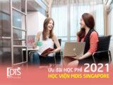 Chương trình ưu đãi học phí Học viện MDIS Singapore năm học 2021
