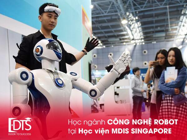 Du học Singapore ngành Công nghệ Robot tại Học viện MDIS