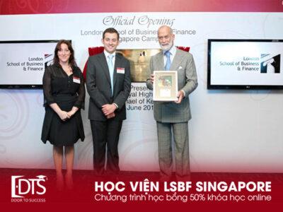 Học bổng 50% học phí khóa học online tại Học viện LSBF Singapore