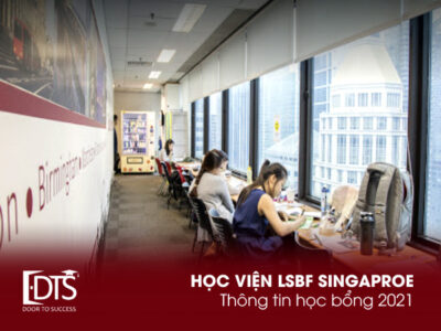 Học bổng Học viện LSBF Singapore năm 2021