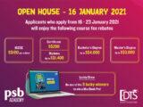 Học bổng Open House tại Học viện PSB Singapore 2021
