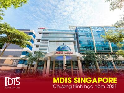 Học viện MDIS Singapore – Chương trình học năm 2021