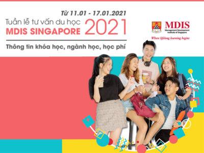 Tuần lễ tư vấn thông tin du học Singapore tại Học viện MDIS 2021