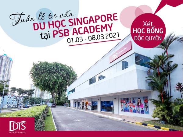 Tuần lễ tư vấn du học Singapore tại Học viện PSB