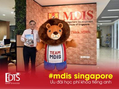 Ưu đãi học phí tiếng anh tại Học viện MDIS Singapore
