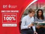 Đại học James Cook Singapore xét học bổng 100% học phí năm 2021