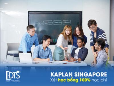 Học viện Kaplan Singapore xét học bổng 100% học phí năm 2021