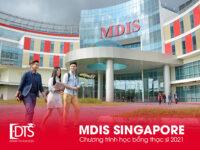 Học bổng chương trình thạc sĩ tại Học viện MDIS Singapore 2021