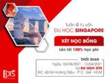 Tuần lễ tư vấn học bổng du học Singapore 2021 lên tới 100 học phí