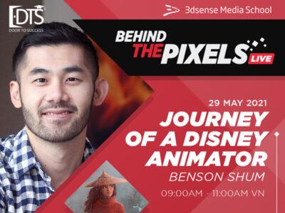 Giao lưu cùng chuyên gia Animation của Học viện 3D Sense Singapore