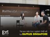 Tại sao nên chọn học ngành thiết kế tại Học viện Raffles Singapore
