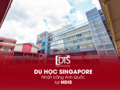 Du học Singapore nhận bằng Anh Quốc tại trường MDIS