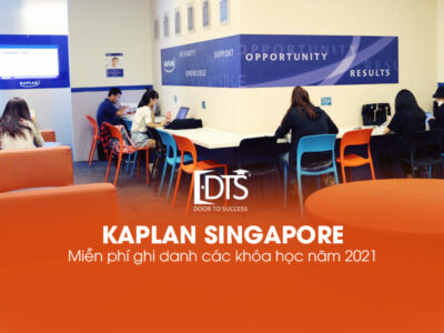 Học viện Kaplan Singapore tặng phí ghi danh các khóa năm 2021